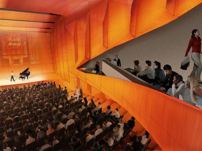 Центр Линкольна – реконструкция. Зал Элис Талли. Проект FXFOWLE Architects/Diller Scofidio + Renfro