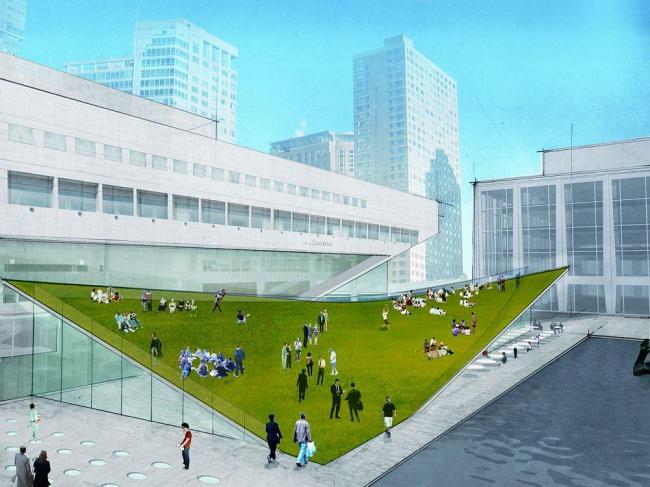 Центр Линкольна – реконструкция © FXFOWLE Architects/Diller Scofidio + Renfro