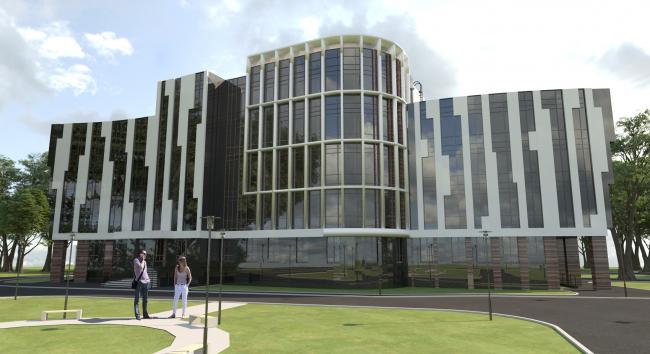 Административно-офисного здания в г.Вологда