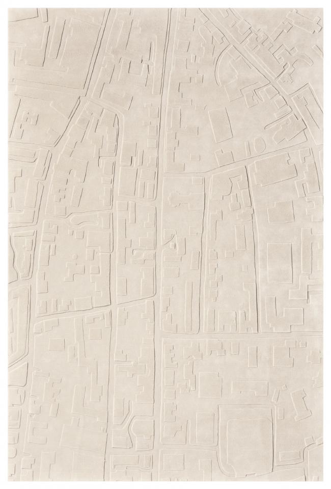 Ковер из «Московской коллекции» Николая Лызлова «Замоскворечье». Фото предоставлено компанией ART de VIVRE