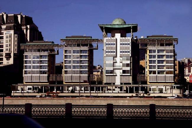 Ahrends, Burton and Koralek. Здание Британского посольства в Москве. Фотография Николая Малинина