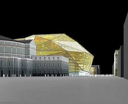 Доминик Перро. Проект реконструкции Мариинского театра в Петербурге. Второй конкурс
