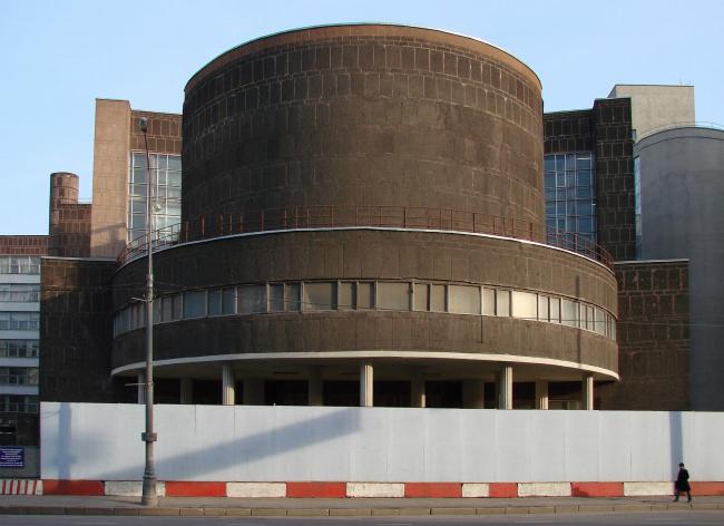 Ле Корбюзье. Здание ЦентроСоюза. Фотография Юлии Тарабариной