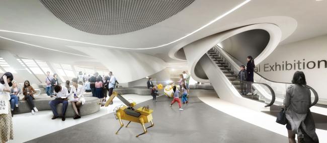 Музей робототехники. Визуализация: Ediz Akyalçın © Melike Altınışık Architects