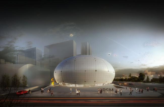 Музей робототехники © Melike Altınışık Architects