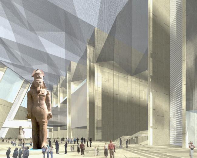 Большой Египетский Музей (с) heneghan peng architects