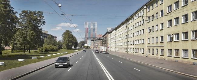 ЖК «Стрижи» на  улице Бабушкина