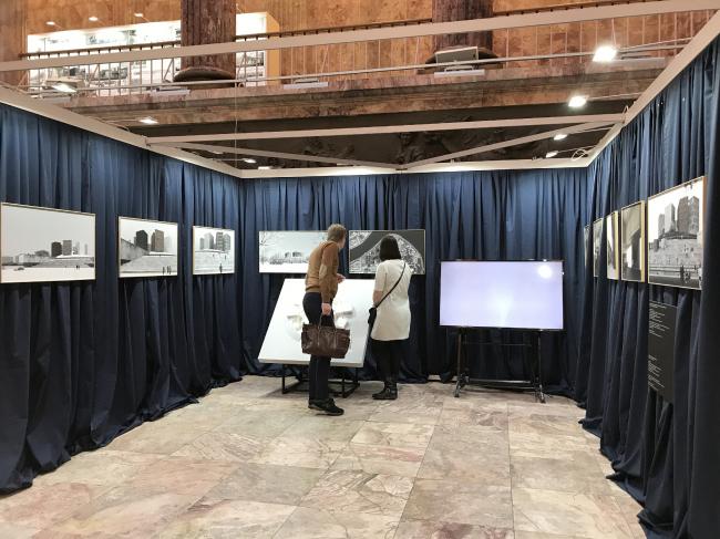 Экспозиция «Студия 44» на выставке «Архитектура Петербурга 2019»