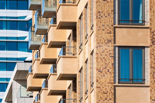 Жилой комплекс «Братья Гершвин» (Gershwin Brothers) в Амстердаме. Фото © Tom Elst