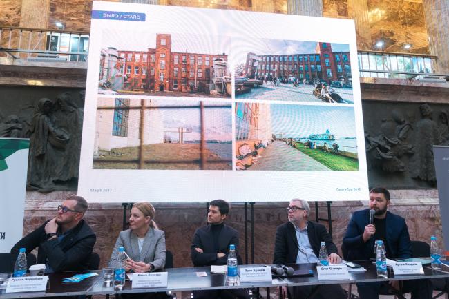 Круглый стол «Архитектура общественных пространств. Прорывы и ошибки» в рамках деловой программы Биеннале.