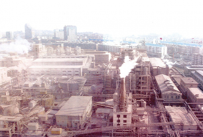 Промзона в Тяньцзине. Фото предоставлено Bernard Tschumi Architects