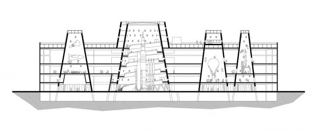 Музей науки и техники Exploratorium © Bernard Tschumi Architects