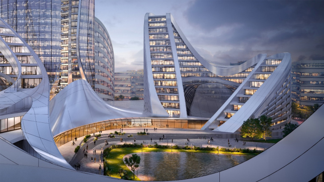 Рублево-Архангельское, архитектурно-градостроительная концепция