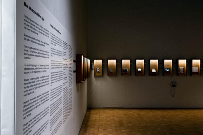 Экспозиция «Время Москвы-реки» на XXII Миланской триеннале