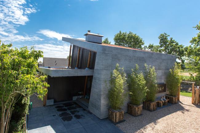 Загородный дом в Оосткапелле, Нидерданды. Ten Hove Architect, Erik ten Hove