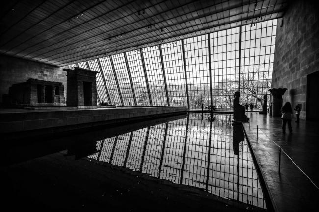 Крыло Сэклера в Метрополитен-музее – место экспозиции храма из Дендура. 1978