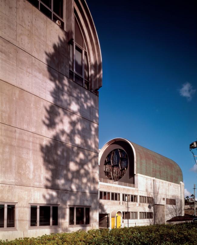 Центральная библиотека в городе Китакюсю (префектура Фукуока). 1974