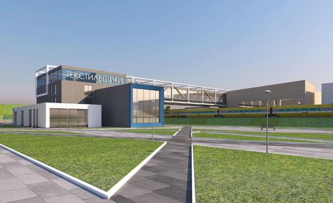 Станция «Текстильщики», проект, итоговая версия