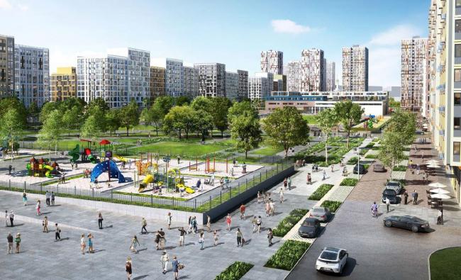 ЖК в районе Москворечье-Сабурово, проект