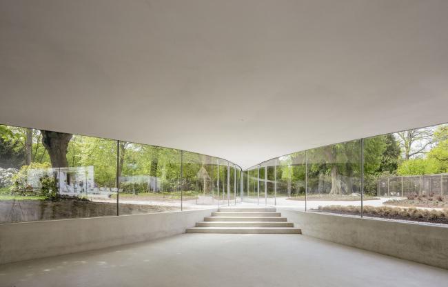 Павильон в парке Вейверсбюрг