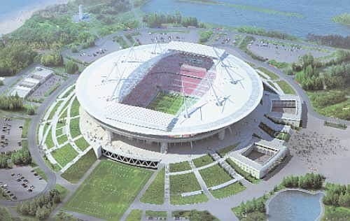 Газпром Арена. Архитектор: Курокава Кисё