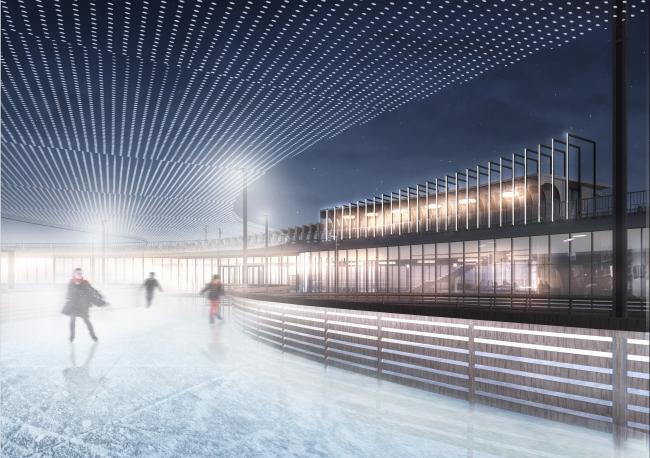 GRAD Park. Skating rink