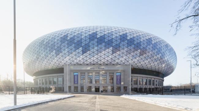 ТЦ «ВТБ Арена Плаза»: реконструкция стадиона Динамо / Manica Architecture, SPEECH, Blank architects