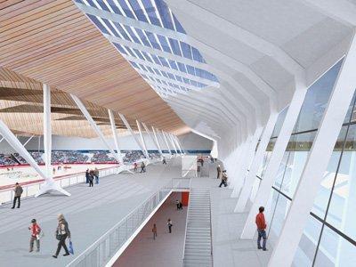 Проект олимпийского конькобежного центра. Сочи-2014. Studio Zoppini Associati