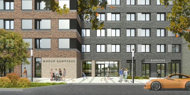 МФК с жилыми помещениями для временного проживания на ул. Ивана Франко