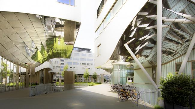 Кампус PMU в Зальцбурге, бюро Berger & Parkkinen