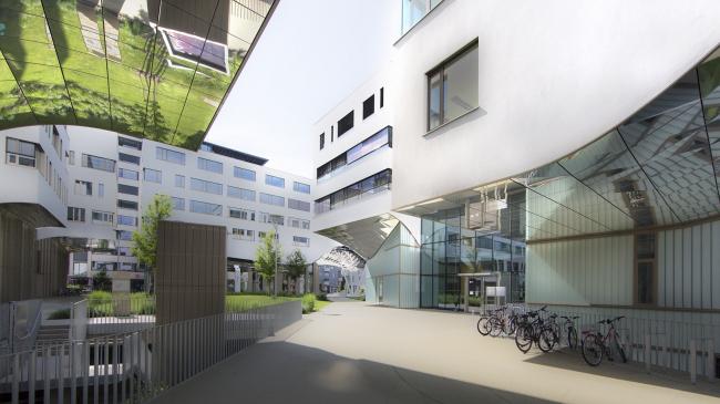 Кампус PMU в Зальцбурге, Berger & Parkkinen