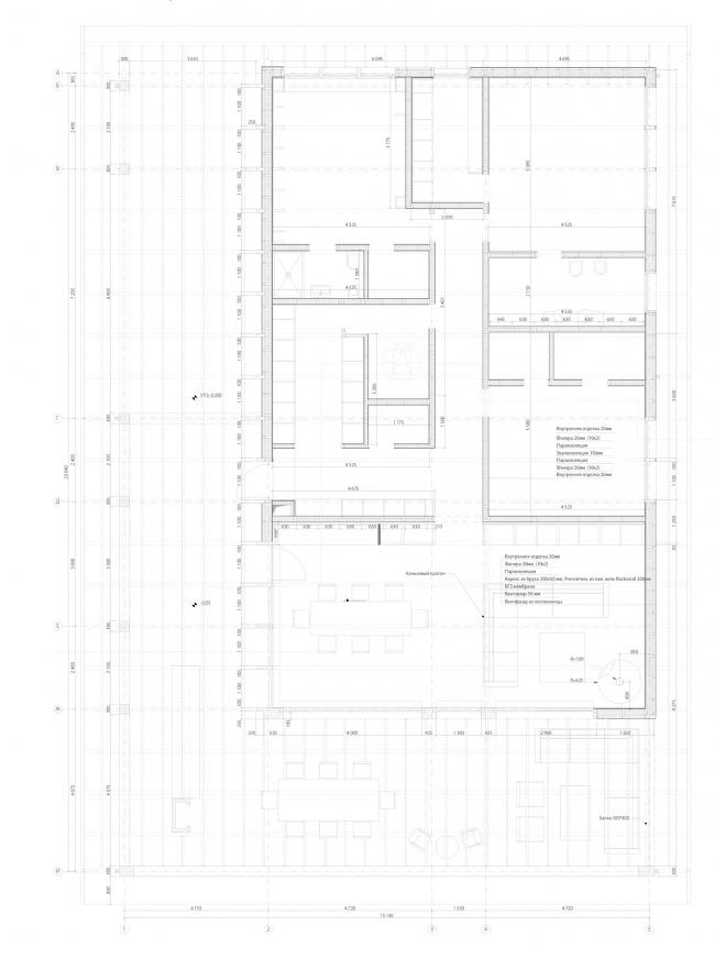 Дом нового формата. Рабочий план