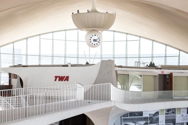 Терминал TWA. Вид после завершения реконструкции и приспособления под TWA Hotel
