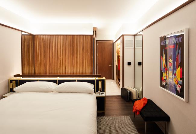 Интерьер смотрового номера TWA Hotel