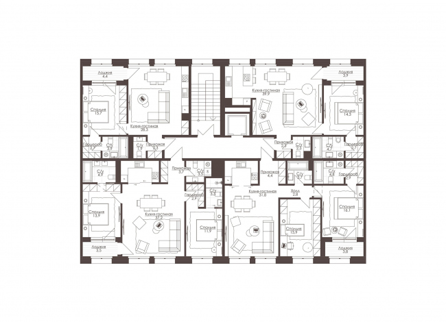 LVIII housing complex. Section 2