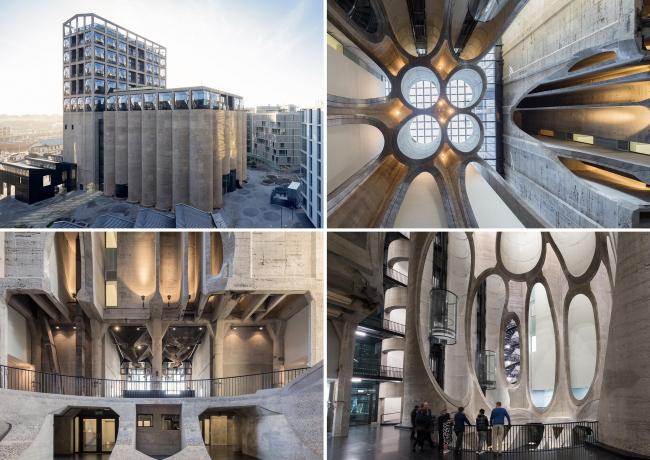 Музей современного искусства в Кейптауне / Реконструкция зернохранилища