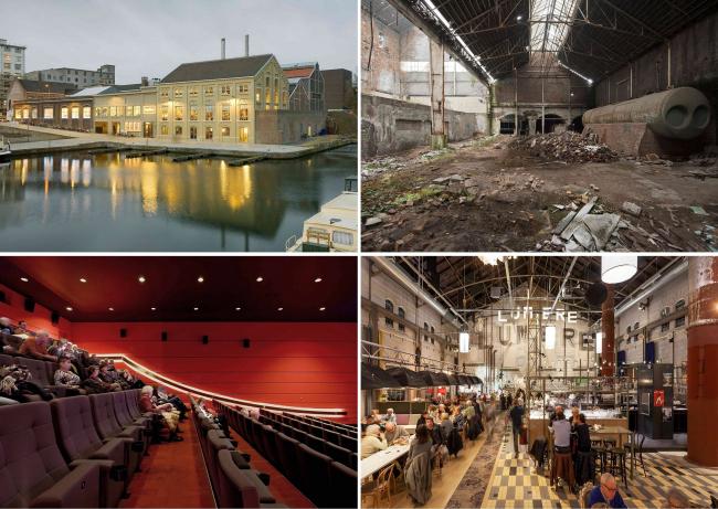 Кинотеатр в Голландии / Руконструкция электростанции и котельной / JHK Architecten + Verlaan & Bouwstra architekten