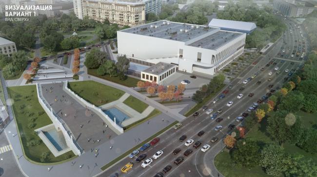 Концепция Ледового центра в Краснопресненском районе