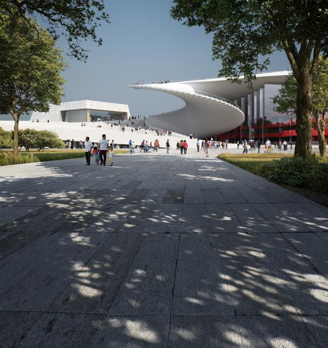 Большой оперный театр в Шанхае