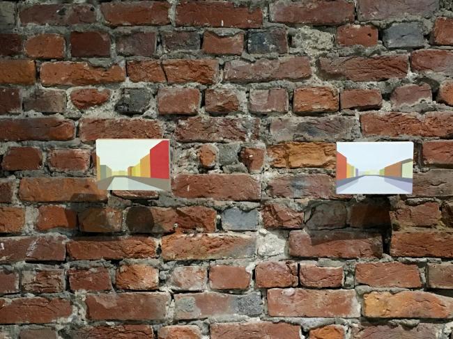 Андрей Люблинский, «Простые пейзажи». Выставка «Мир архитектуры и дизайна», 2019