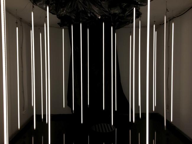 Инсталляция «Архитектурного бюро 11». Выставка «Мир архитектуры и дизайна», 2019