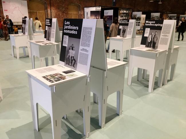 Экспозиция AJAP. Выставка «Мир архитектуры и дизайна», 2019 AJAP