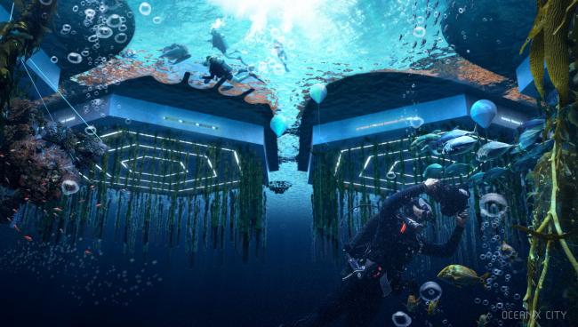 Город Oceanix