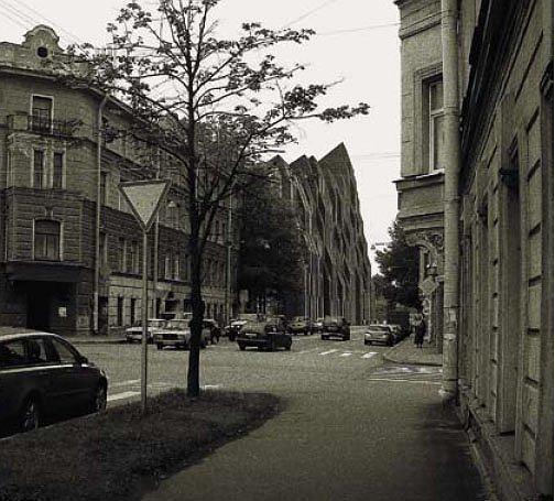 Жилой дом по ул. Ораниенбаумской. Санкт-Петербург. Витрувий и сыновья