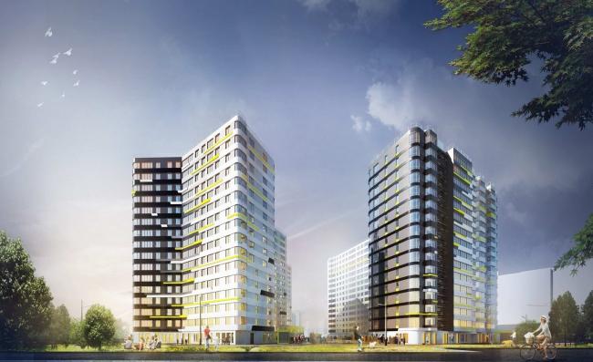 """""""Dom na Lvovskoi"""" housing complex"""