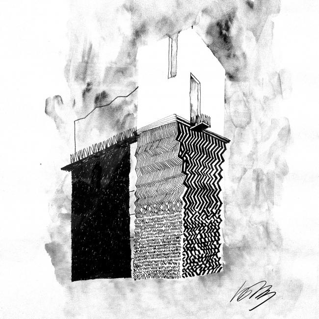 Edison House. Sketch