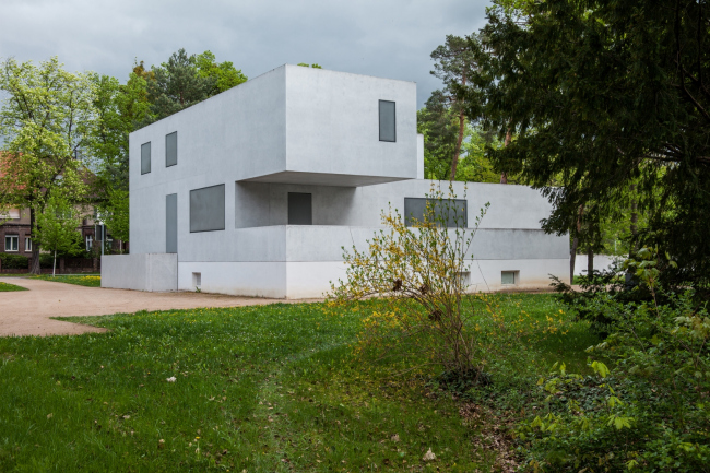 Дом Вальтера Гропиуса. Воссоздание. 2014