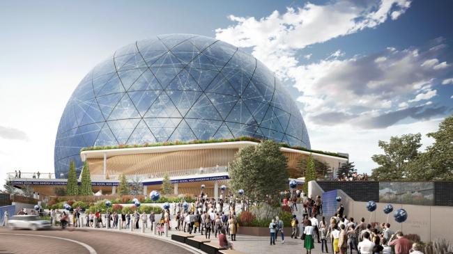 Концертная площадка MSG Sphere