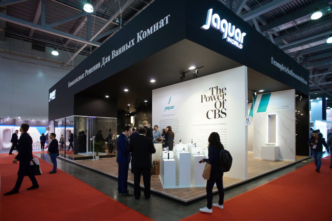 Jaquar Group на выставке MosBuild 2019