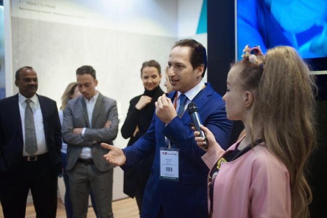 Владимир Костюк, глава представительства в России и СНГ
